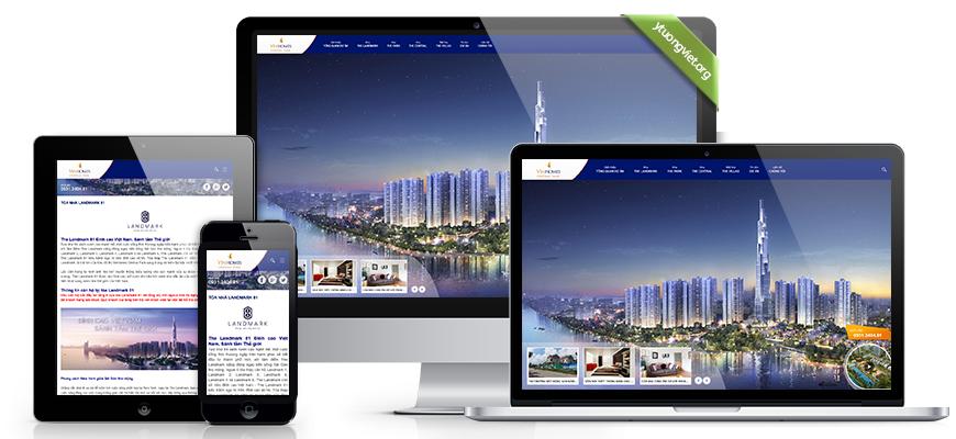 thiết kế web bất động sản tại đà nẵng