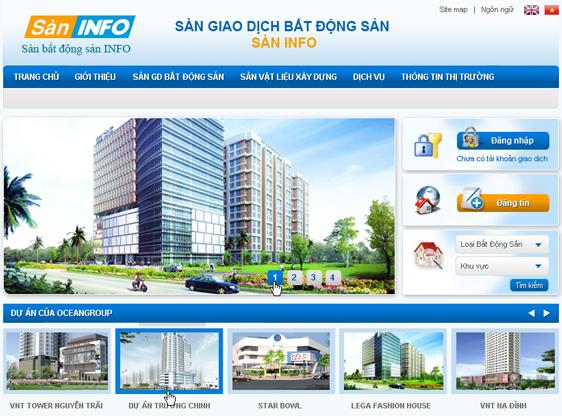 thiết kế website bất động sản giá rẻ đà nẵng