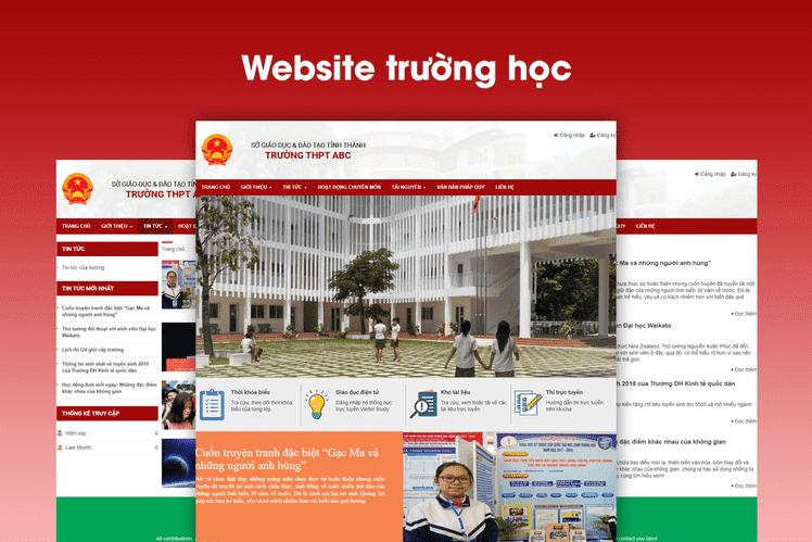 thiết kế web giáo dục đà nẵng