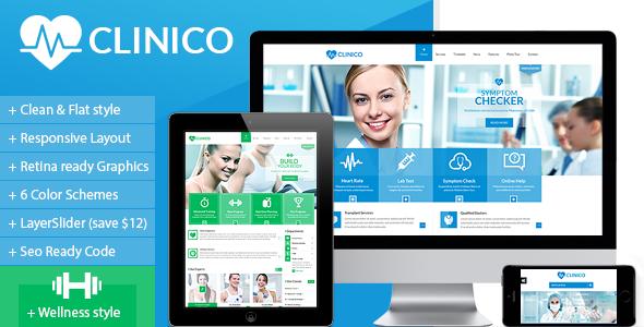 thiết kế website phòng khám - y tế