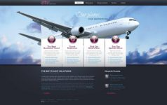 thiết kế web bán vé máy bay